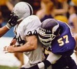 Vikings vs Raiders - Great Rivalry even in the old days (c) EFAF